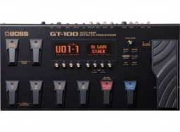 BOSS GT-100 V2 Multieffect-Processor