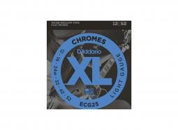 DADDARIO ECG25 chromes flatwound