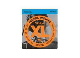 DADDARIO EXL110 El. Nickel Round W. .010-046 Regular Light