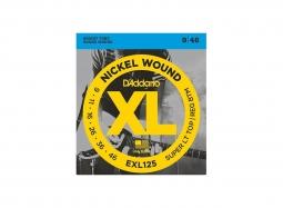 DADDARIO EXL125 El. Nickel Round W. .009-.046 SuperTop-RegBottom