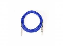 DiMarzio EP1715SREB Instr.-Kabel , gerade-gewinkelt, 4.5m, blau