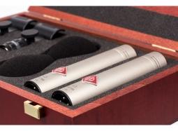 Neumann KM 184 stereo set silber
