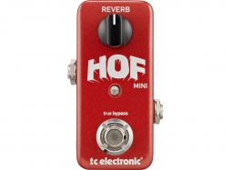 TC ELectronic HOF Hall of Fame MINI Reverb
