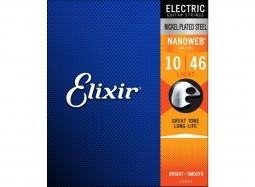 Elixir 12052 Nanoweb Coating .010-.046