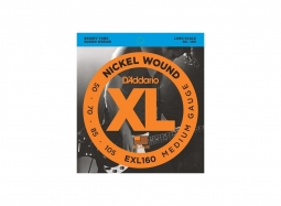 DADDARIO EXL160 .050-.105 Nickel Round W. Long Scale Regular