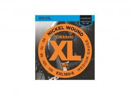 DADDARIO EXL160-5 5-String .050-.135 Nickel Round W. Long Scale Regular