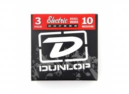 DUNLOP DEN1046 3-Pack El. .010-.046 Nickel RW
