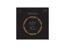 DADDARIO NY XL 1046 3-Pack Nickel Round Wound .010-.046 Regular Light
