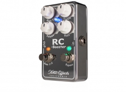XOTIC RC Booster V2, Boost-Overdrive chrome