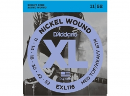 Daddario EXL116 Nickel Wound .011-.052