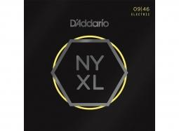 DADDARIO NY XL 0946  Nickel Round Wound .009-.046 LightTop-RegularBottom