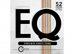 Cleartone EQ Strings – Custom Light 11-52