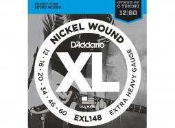 Daddario EXL148 Extra Heavy, for Drop C Tuning 10er BOX