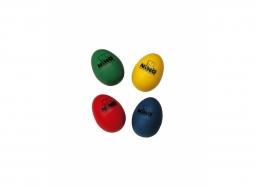 NINO Egg Shakerset bestehend aus 4 Stk. gemischte Farben
