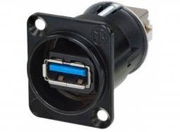 NEUTRIK NAUSB3-B USB 3 Einbaubuchse