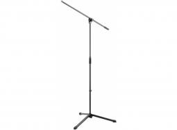 K&M 25400 Mikrofonstativ Einsteigerklasse, schwarz