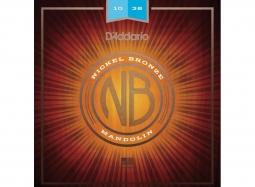 D'ADDARIO NBM1038 Mandolin 8-String .010-.038 Nickel Bronze W. Light