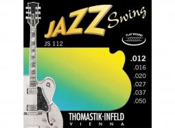 Thomastik JS112 Ac. Jazz Swing Series 012-050 Flat Wound Medium Light