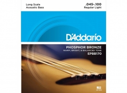 Daddario EPBB170 Ac. Bass 4-String .045-.100 Phosphor Bronze Wound, Long Scale