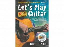 HAGE Book Let's Play Guitar B2+DVD+2CD deutsch