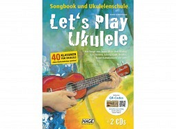 HAGE Book Let's Play Ukulele +DVD+2CD ..