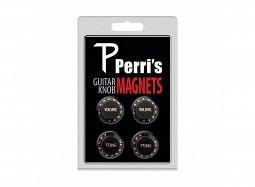 Perris Guitar Knob Magnet 4Pcs. Black
