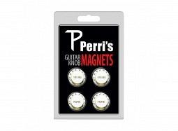 Perris Guitar Knob Magnet 4Pcs. White