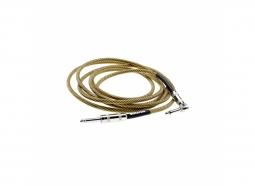 DiMarzio EP1715SRVT Instr.-Kabel , gerade-gewinkelt, 4.5m, vintage