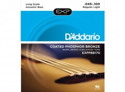 Daddario EXPPBB170 Acoustic Bass Coated Phosphor Bronze Wound Soft