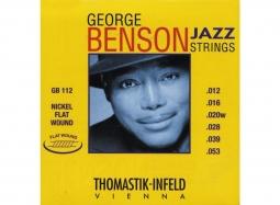 Thomastik George Benson Nickel Flatwound GB114