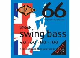 Roto Sound Swing Bass Nickel SM66N 40-100 - long scale