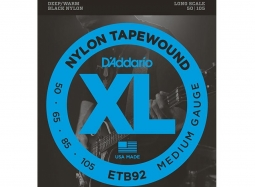 Daddario ETB92 Nylon Tapewound .050-.105 Long Scale