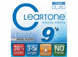 Cleartone EMP Coated Electric Guitar Strings 9419 Hybrid 9-46