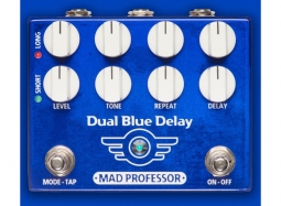 MAD PROFESSOR Dual Blue Delay NEW