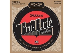 DADDARIO EXP45 Classical PRO ARTE Coated .028-.044 Silver-Plated Copper W. Normal Tension