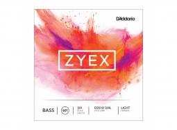 Daddario Orchestral Kontrabass 3/4 ZYEX Satz weich