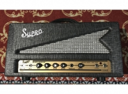 Supro Black Magick 1695TH Tube Amplifier Head Occasion