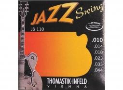 Thomastik-Infeld JS110 Ac. Jazz Swing Series 010-044 Flat Wound Light