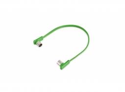 "RockBoard Flat MIDI Cable - 30 cm / 11 13/16"" - Green"