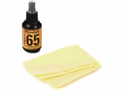 Dunlop 654C Cleaner polish Formula 65 Sprayflasche 118 ml & Cotton Polish Cloth