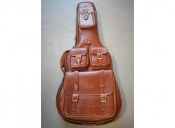 SMT Electric Guitar Soft Case Leather Like Brown