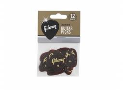 Gibson Guitar Picks Tortoise 12 Pcs. Heavy