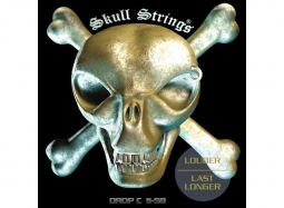 SKULL STRINGS Drop Line, Stainless Steel .011-.058 Regular Drop C