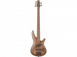 IBANEZ BUNDLE SR5 E-Bass, antique brown stained (SR655E-ABS)