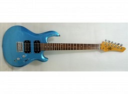 Kahn Bundle Junior Guitar Blue Aslin Dane