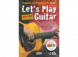 HAGE Book Let's Play Guitar B1+DVD+2CD deutsch
