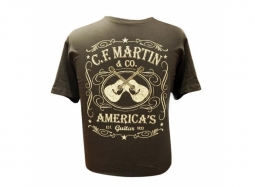Martin T-Shirt Dual Guitar L