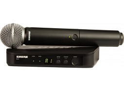 SHURE BLX24ESM58M17 SM Wireless Analog, SM58