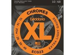 DADDARIO ECG23 extra light .010 - .048 Flat-Wound ( .020W )