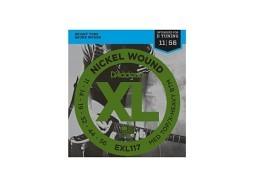 DADDARIO EXL117 El. Nickel Round W. .011-.056